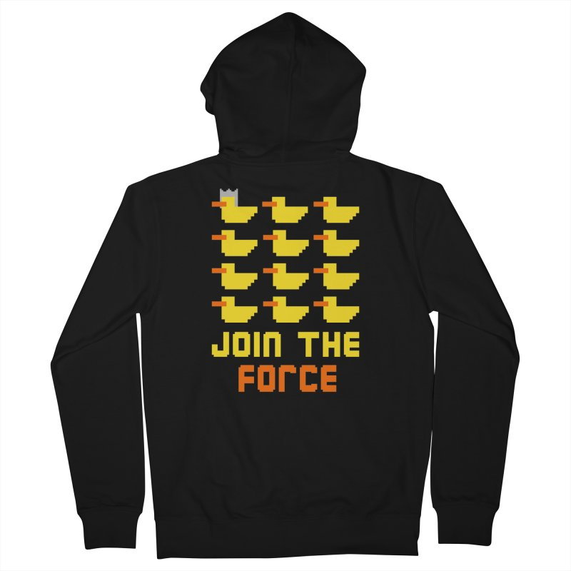 Join the duck force Men's Zip-Up Hoody by hristodonev's Artist Shop