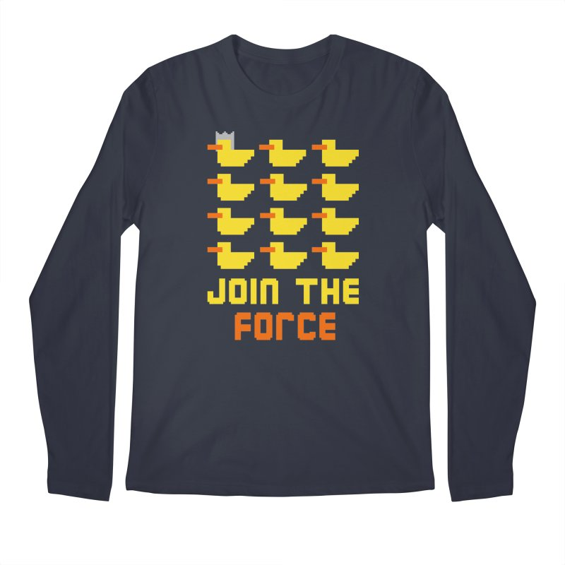 Join the duck force Men's Longsleeve T-Shirt by hristodonev's Artist Shop