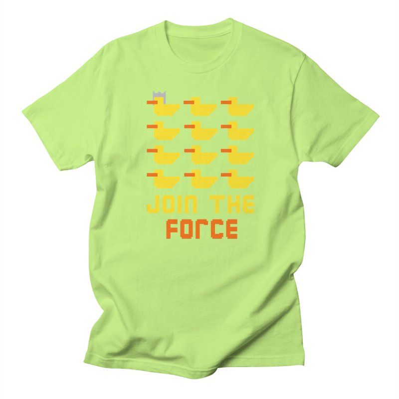 Join the duck force Men's T-shirt by hristodonev's Artist Shop