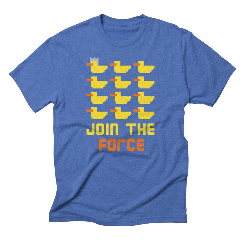 Join the duck force Men's Triblend T-shirt by hristodonev's Artist Shop