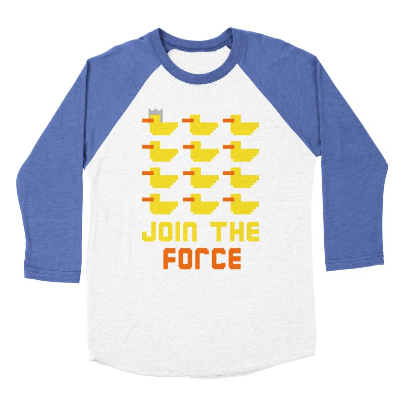 Join the duck force Women's Baseball Triblend Longsleeve T-Shirt by Hristo's Shop