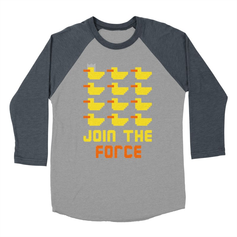 Join the duck force Men's Baseball Triblend T-Shirt by hristodonev's Artist Shop