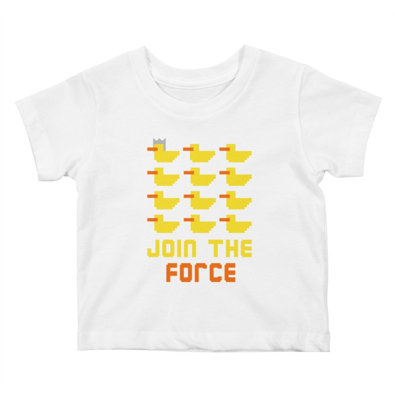 Join the duck force Kids Baby T-Shirt by hristodonev's Artist Shop