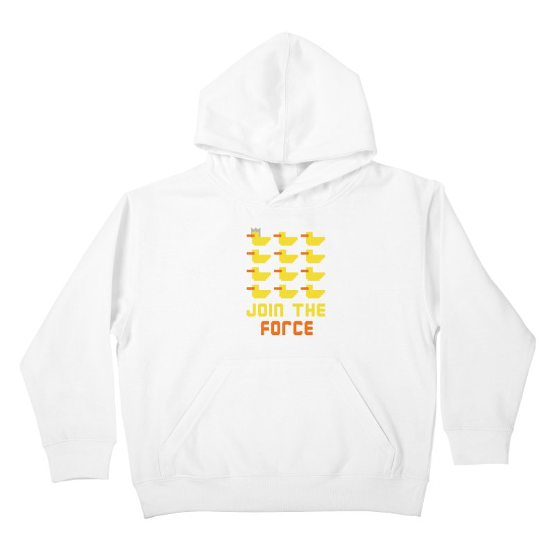 Join the duck force Kids Pullover Hoody by hristodonev's Artist Shop