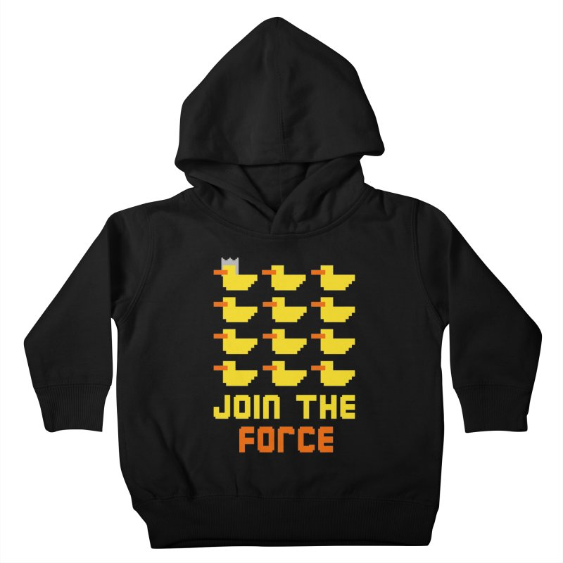 Join the duck force Kids Toddler Pullover Hoody by hristodonev's Artist Shop