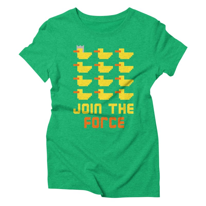 Join the duck force Women's Triblend T-shirt by hristodonev's Artist Shop