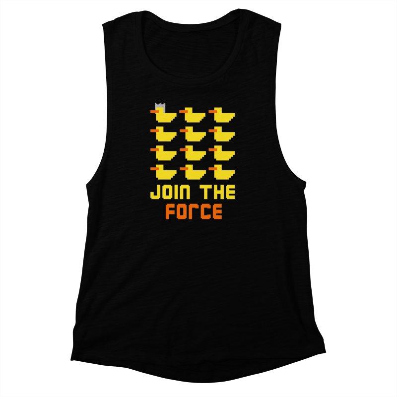 Join the duck force Women's Muscle Tank by hristodonev's Artist Shop