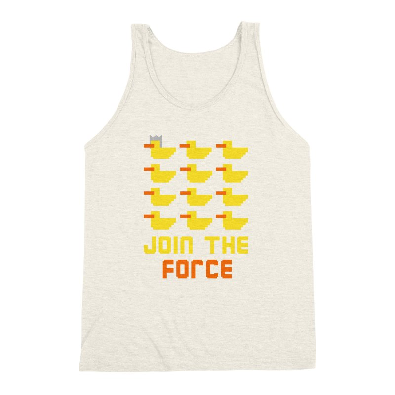 Join the duck force Men's Triblend Tank by hristodonev's Artist Shop