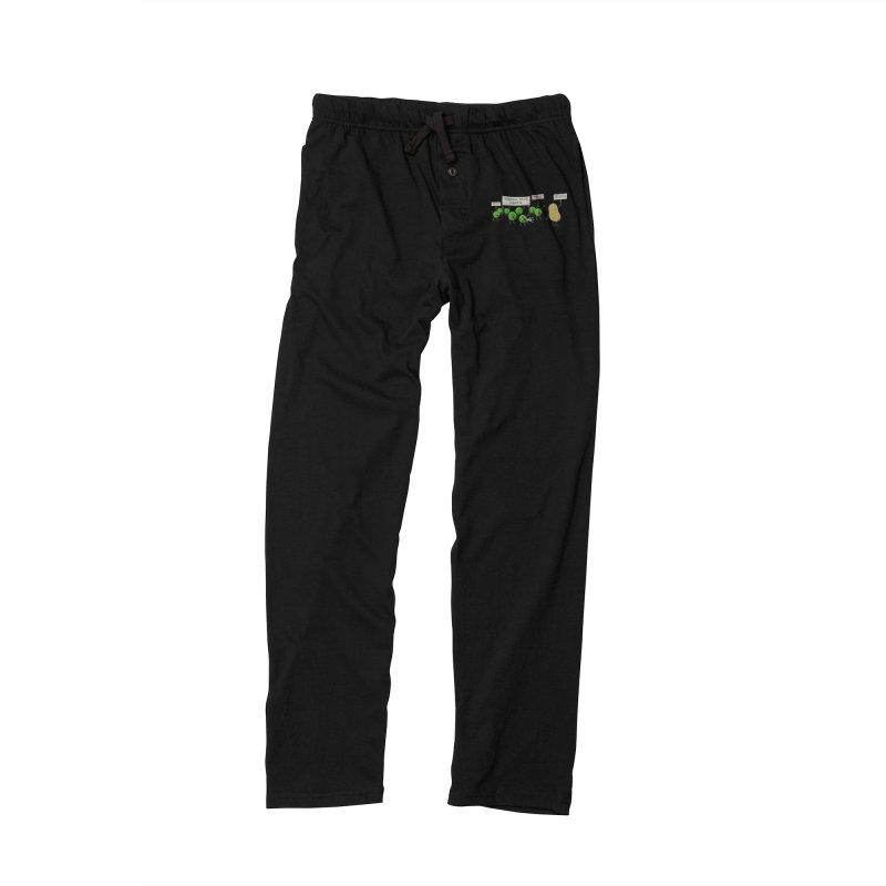 Green Peas March Women's Lounge Pants by hristodonev's Artist Shop