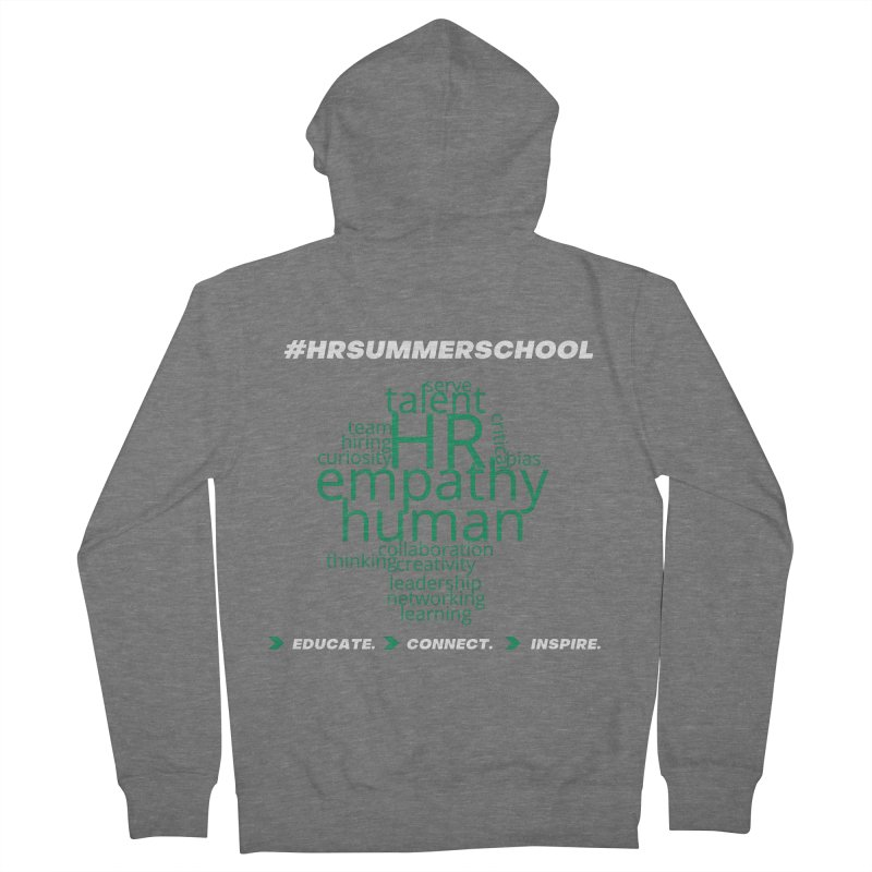 #HRSummerSchool Women's Zip-Up Hoody by hrsummerschool's Artist Shop