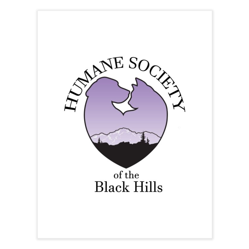 Humane Society of the Black Hills Home Fine Art Print by The Humane Society of the Black Hills