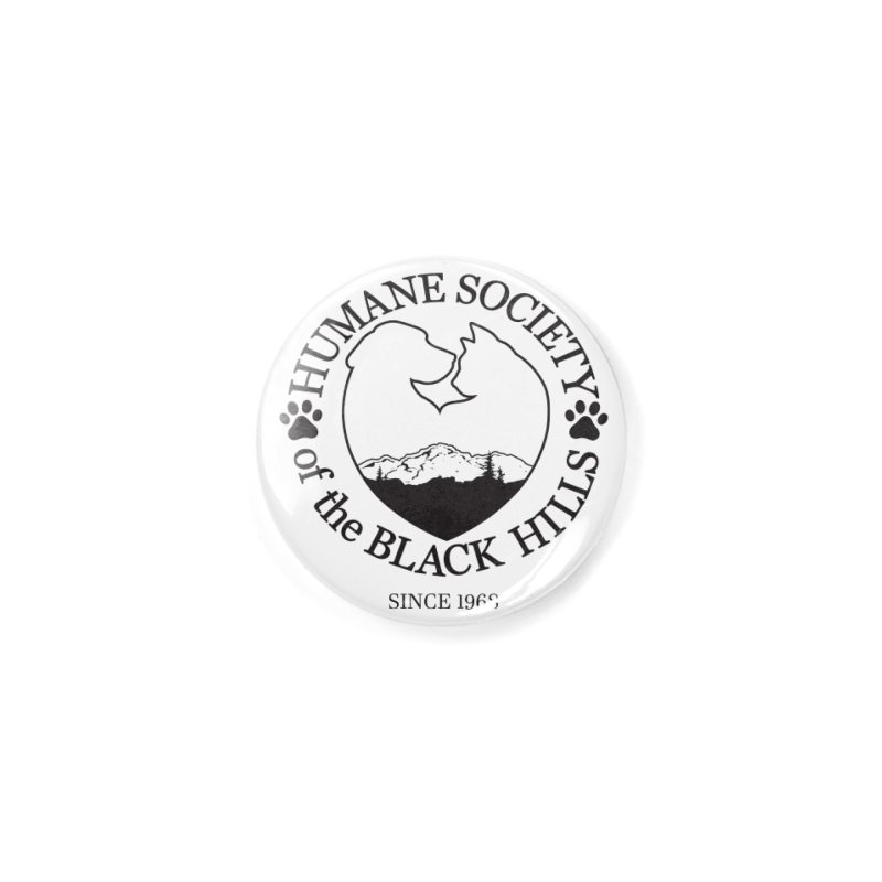 50th Anniversary Accessories Button by The Humane Society of the Black Hills