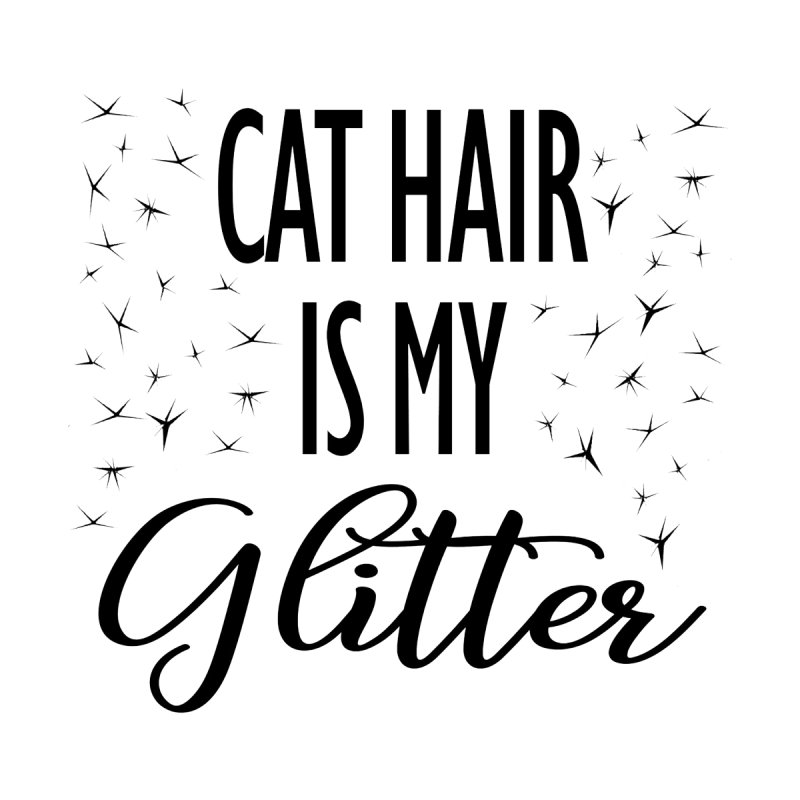 Cat Hair Is My Glitter (LG Design) Accessories Bag by The Humane Society of the Black Hills
