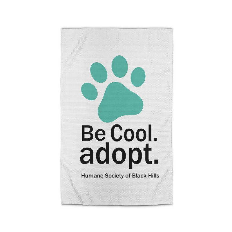 Be Cool. Adopt - Aquamarine Home Rug by The Humane Society of the Black Hills