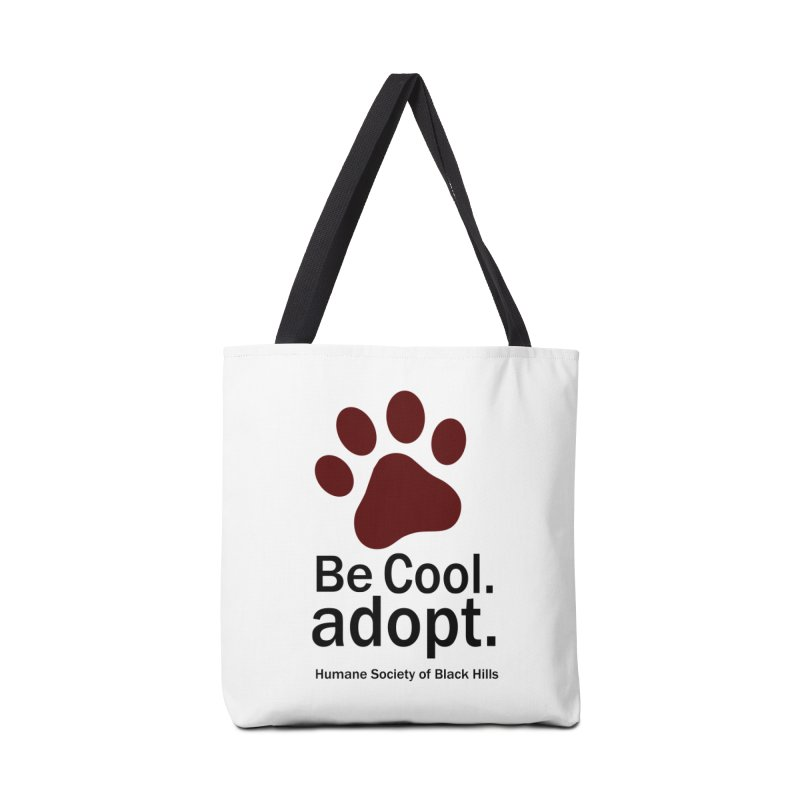 Be Cool. Adopt - Maroon Accessories Bag by The Humane Society of the Black Hills