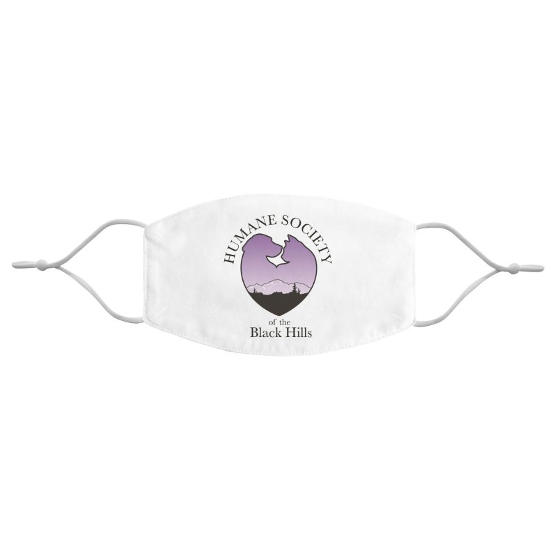 Humane Society of the Black Hills Face Mask Accessories Face Mask by The Humane Society of the Black Hills