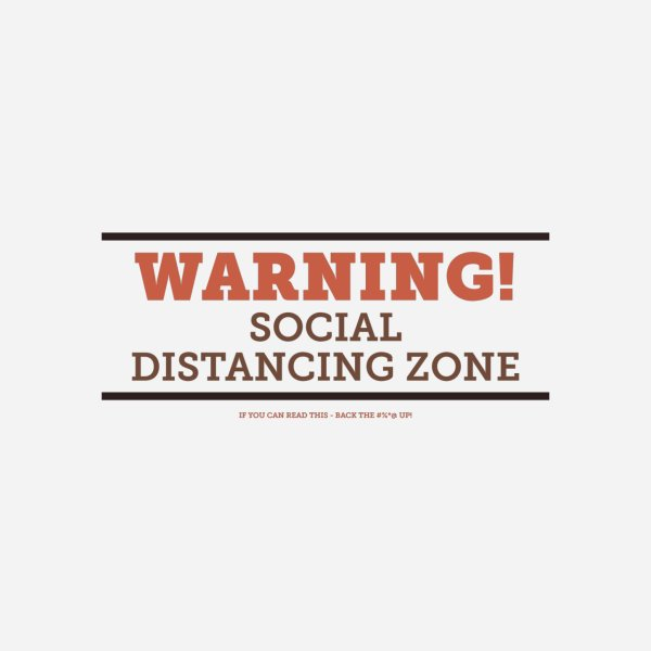 image for Social Distancing Zone - Light
