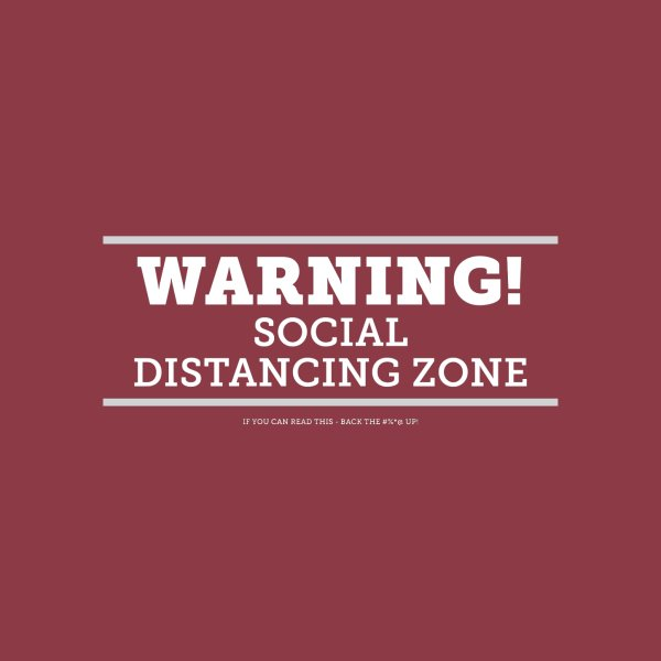 image for Social Distancing Zone - Dark