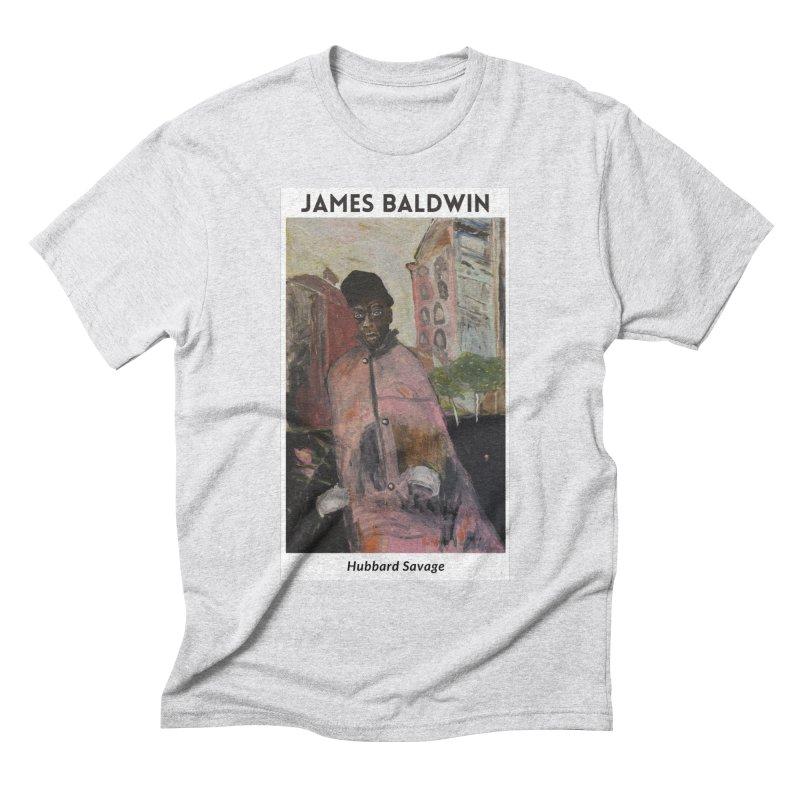 James Baldwin by Hubbard Savage Men's T-Shirt by hubbard.savage.art