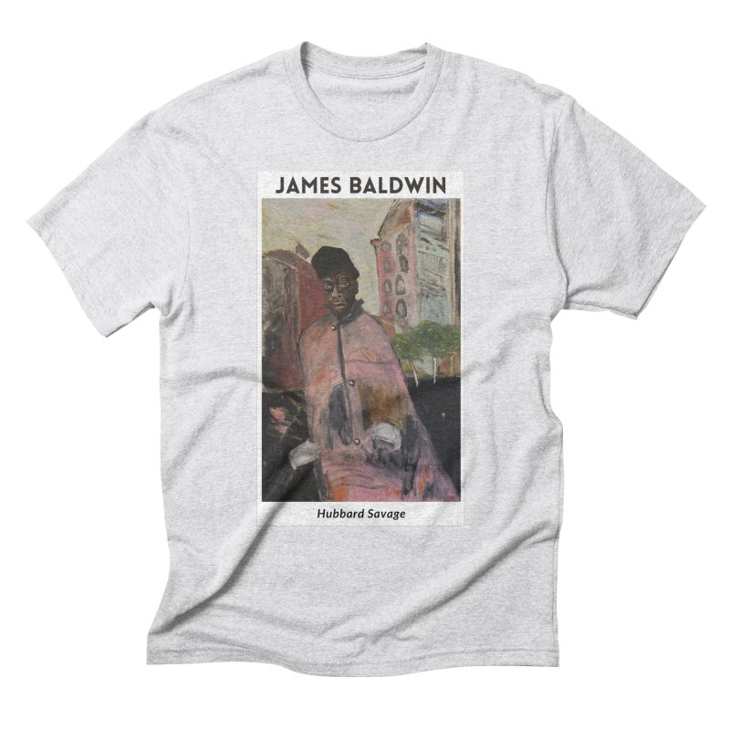 James Baldwin (Painting) T-Shirt / Hubbard Savage Men's T-Shirt by hubbard.savage.art