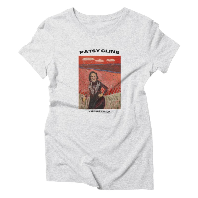 Patsy Cline by Hubbard Savage Women's T-Shirt by hubbard.savage.art