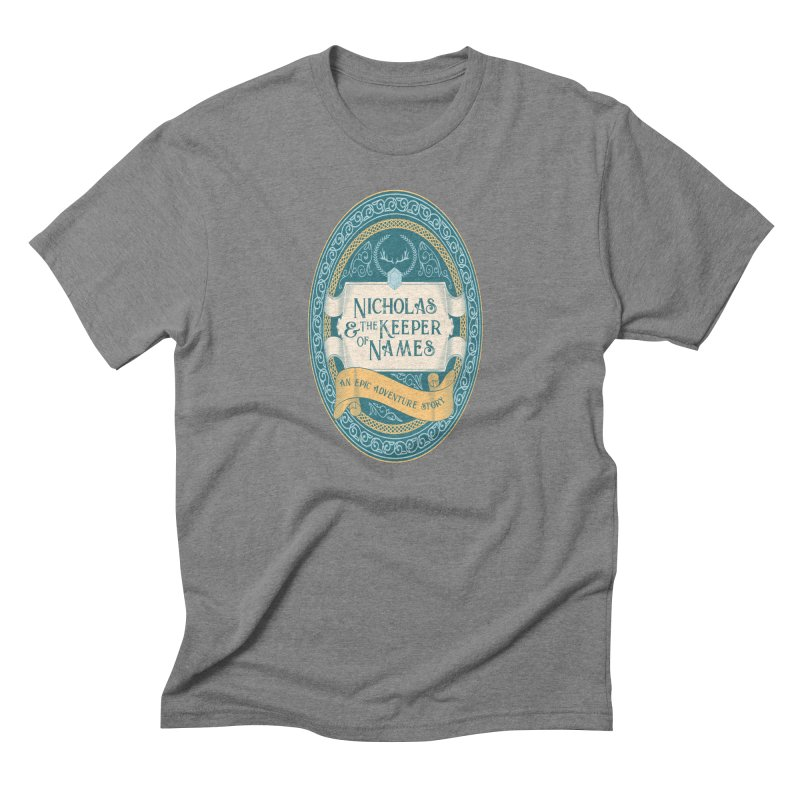Nicholas and the Keeper of Names Men's T-Shirt by Huck&Dorothy Gear