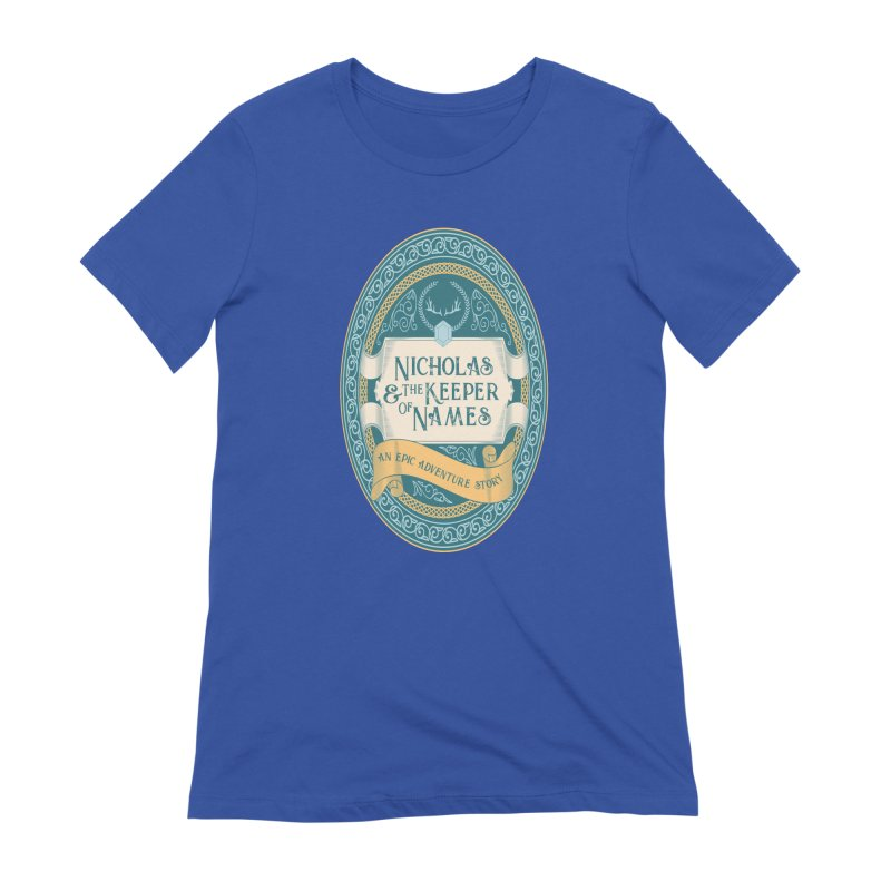 Nicholas and the Keeper of Names Women's T-Shirt by Huck&Dorothy Gear
