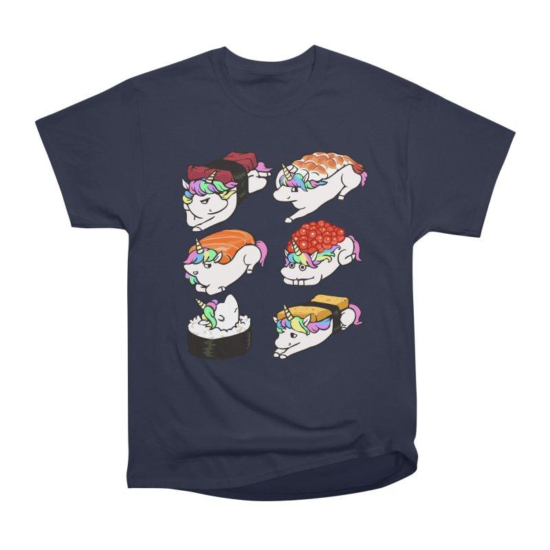Sushi Unicorn Men's Heavyweight T-Shirt by huebucket's Artist Shop