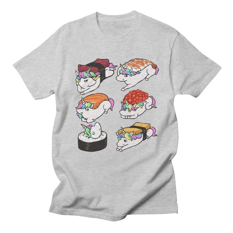 Sushi Unicorn Men's Regular T-Shirt by huebucket's Artist Shop