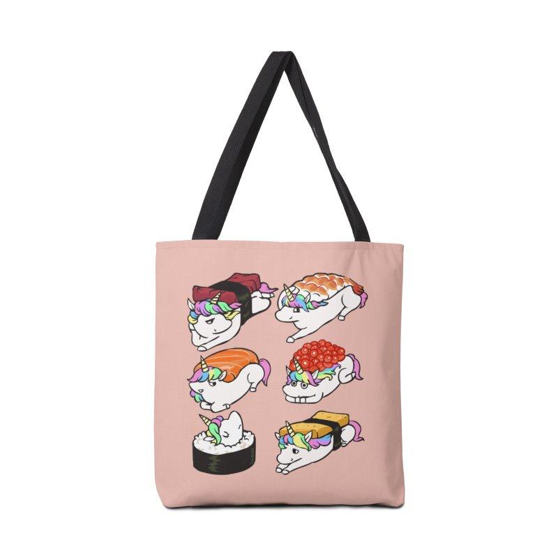 Sushi Unicorn Accessories Tote Bag Bag by huebucket's Artist Shop