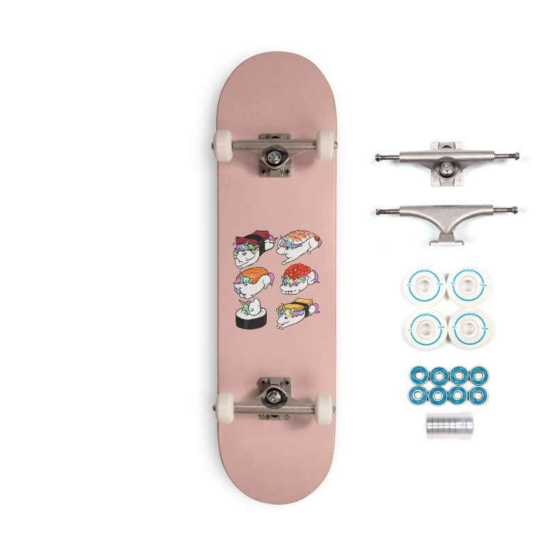 Sushi Unicorn Accessories Complete - Basic Skateboard by huebucket's Artist Shop