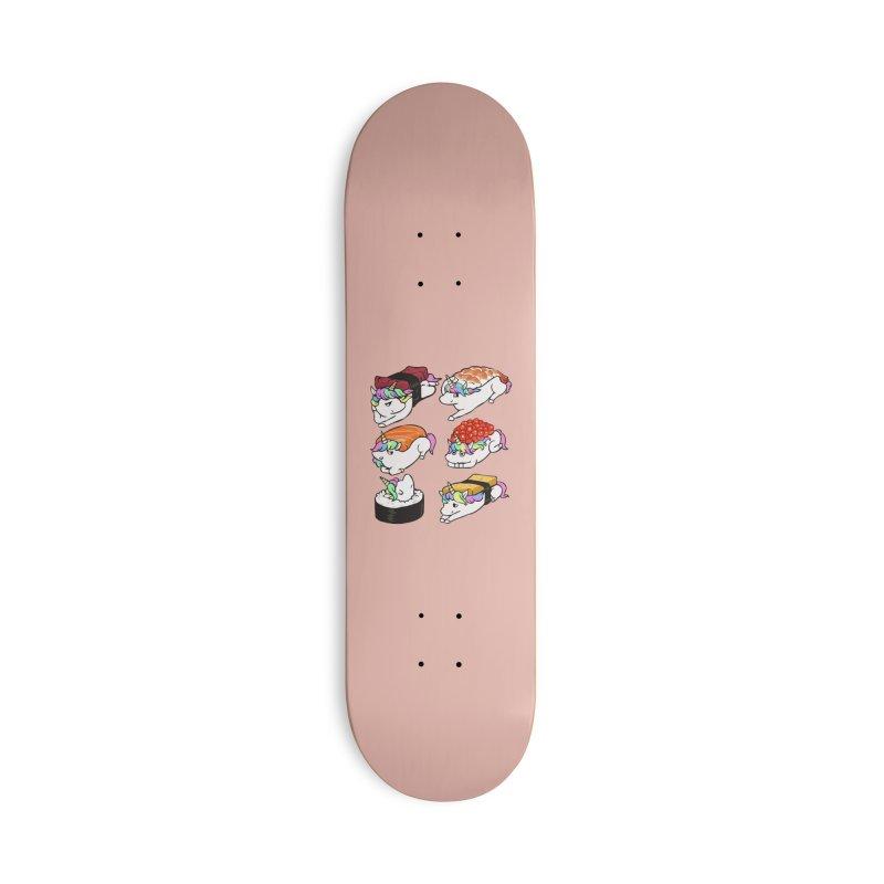 Sushi Unicorn Accessories Deck Only Skateboard by huebucket's Artist Shop
