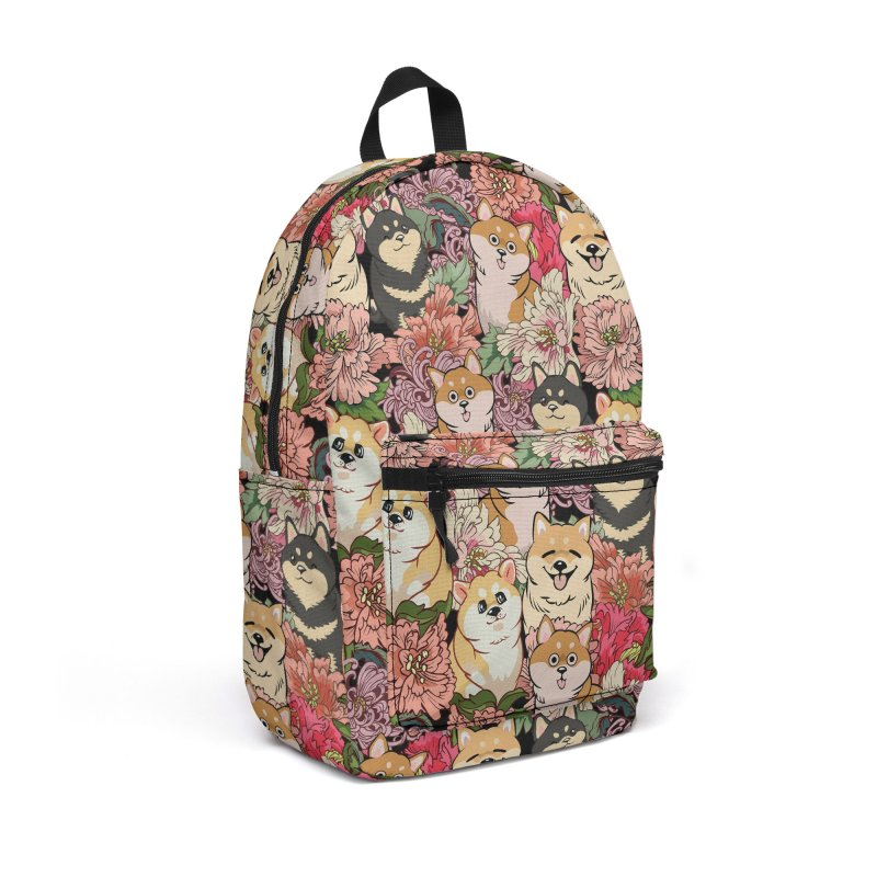 Because Shiba Inu Accessories Backpack Bag by huebucket's Artist Shop