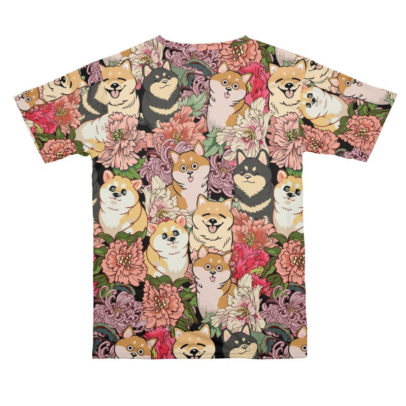 Because Shiba Inu Women's Cut & Sew by huebucket's Artist Shop