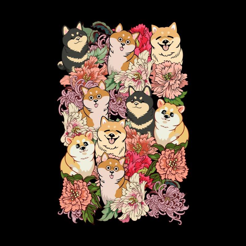 Because Shiba Inu Men's Cut & Sew by huebucket's Artist Shop