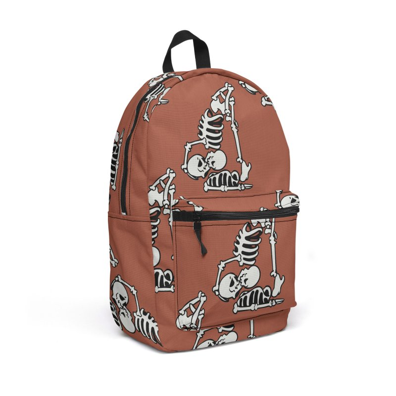 Skeleton Acroyoga Accessories Backpack Bag by huebucket's Artist Shop