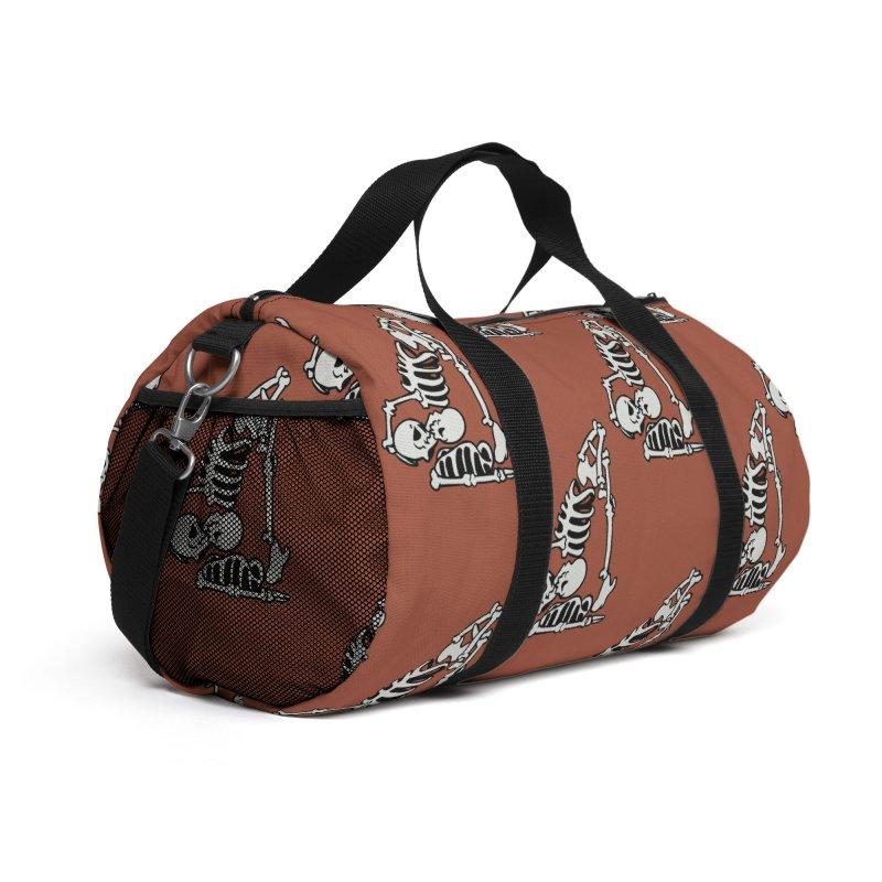 Skeleton Acroyoga Accessories Bag by huebucket's Artist Shop
