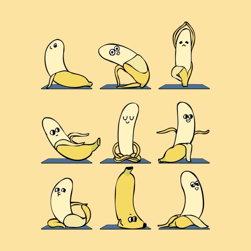 Banana Yoga by huebucket's Artist Shop