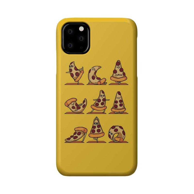 Pizza Yoga Accessories Phone Case by huebucket's Artist Shop