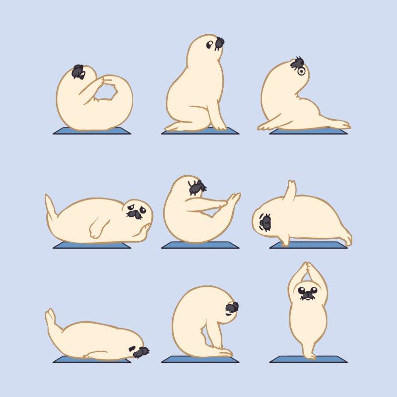 Baby Seal Yoga by huebucket's Artist Shop