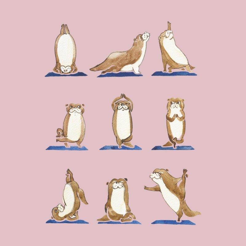 Otter Yoga Watercolor by huebucket's Artist Shop
