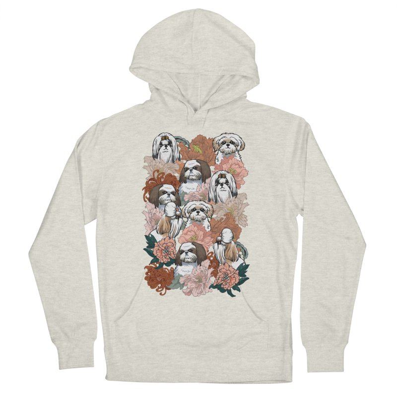 Because Shih Tzu Men's French Terry Pullover Hoody by huebucket's Artist Shop