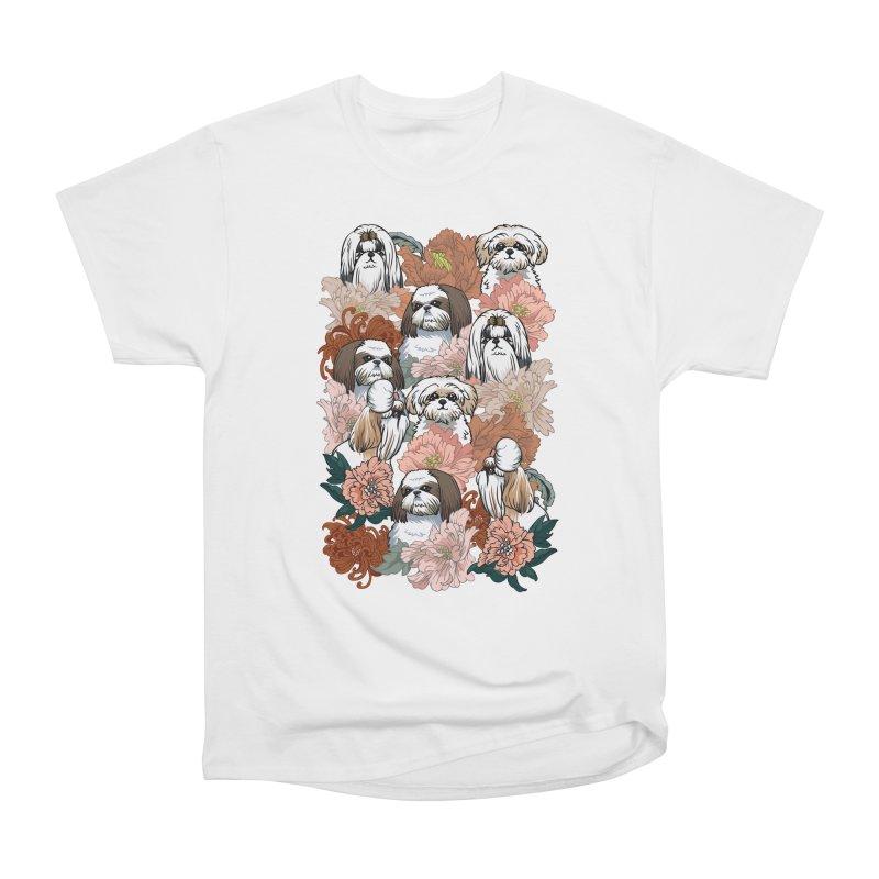 Because Shih Tzu Men's Heavyweight T-Shirt by huebucket's Artist Shop