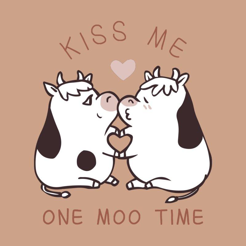 Kiss me one moo time by huebucket's Artist Shop
