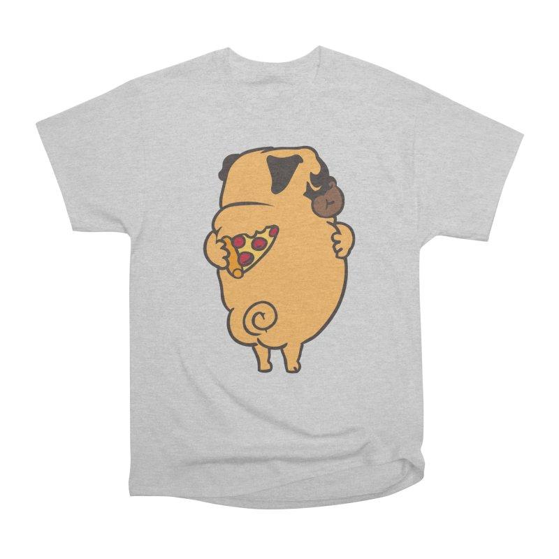 Self Love Pug Men's Heavyweight T-Shirt by huebucket's Artist Shop