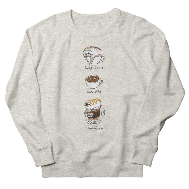 Slow Life Coffee Men's French Terry Sweatshirt by huebucket's Artist Shop