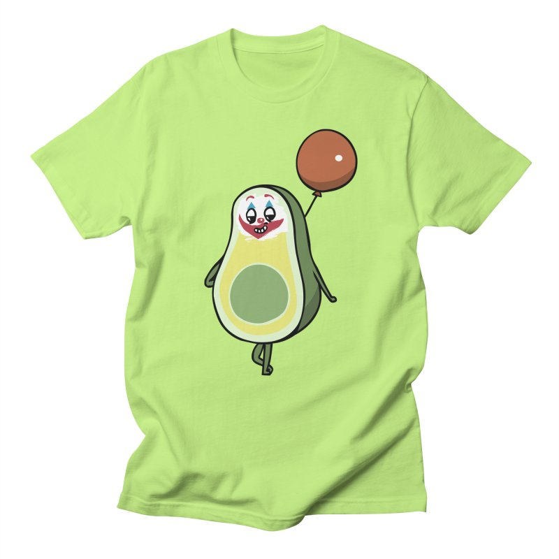 Avocado Villain Men's Regular T-Shirt by huebucket's Artist Shop
