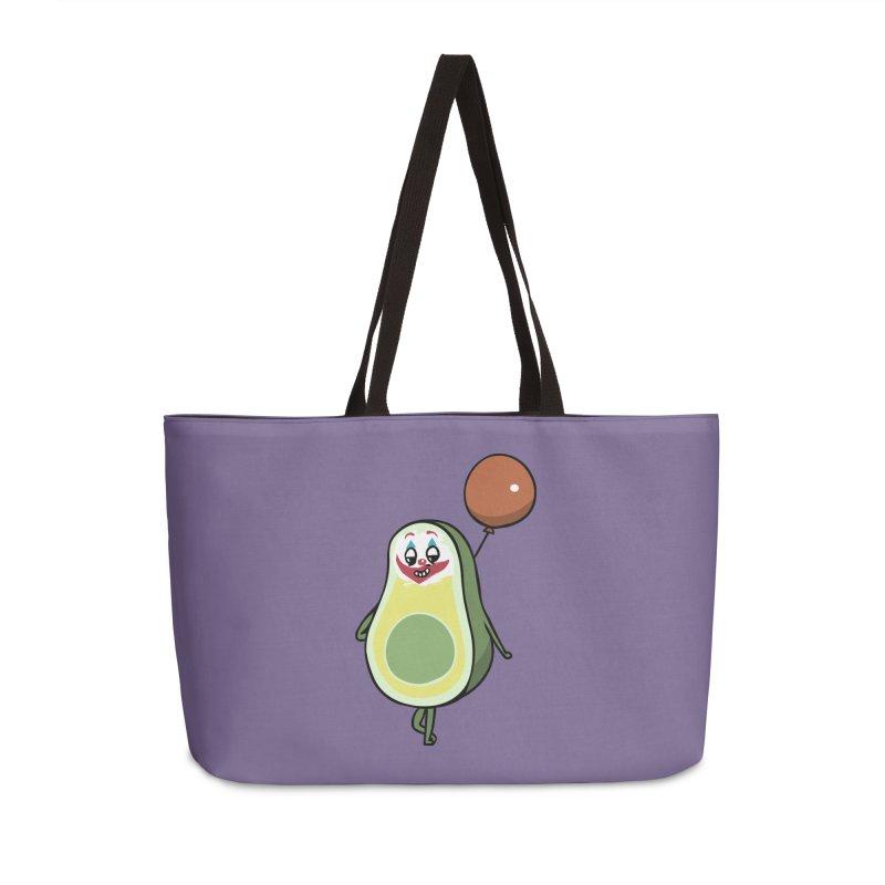 Avocado Villain Accessories Weekender Bag Bag by huebucket's Artist Shop