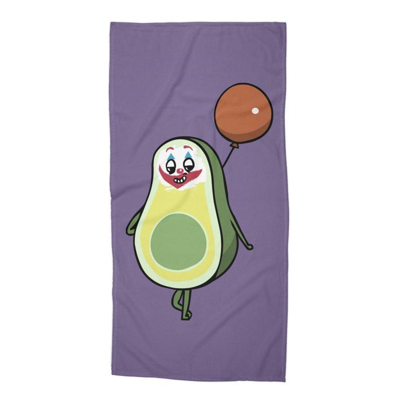 Avocado Villain Accessories Beach Towel by huebucket's Artist Shop