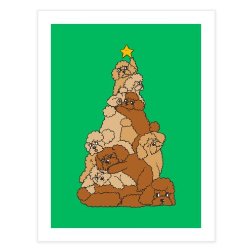image for Christmas Tree Poodle